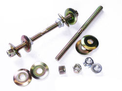 LINK ROD KIT 140MM LONG  (NO BUSHINGS)